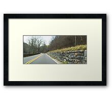 NC Road Framed Print