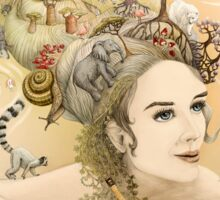 Animal princess Sticker