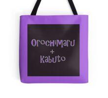 Orochimaru and Kabuto Solid Tote Bag