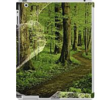 Forest Through Broken Glass iPad Case/Skin