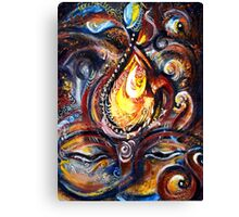 THIRD EYE - ABSTRACT Canvas Print