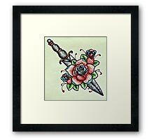 Rose Dagger  Framed Print