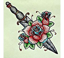 Rose Dagger  Photographic Print