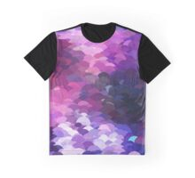 Galaxy Colored Pattern Graphic T-Shirt