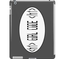 Girl Code iPad Case/Skin