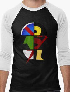 YJ Emblem Men's Baseball ¾ T-Shirt