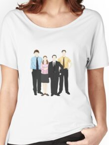 The Office Sticker Women's Relaxed Fit T-Shirt