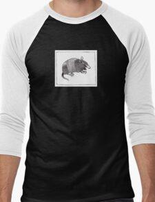 Graphic Armadillo Men's Baseball ¾ T-Shirt