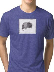Graphic Armadillo Tri-blend T-Shirt