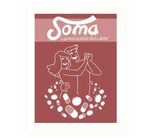 Brave New World - Soma Poster Art Print