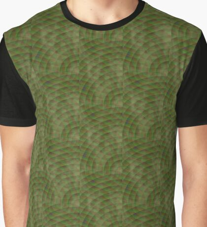 Moldy Interference Graphic T-Shirt