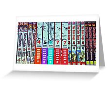 Manga and Anime Books Greeting Card