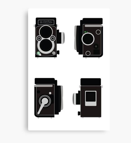 Rolleiflex Camera Canvas Print