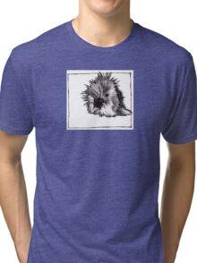Graphic Porcupine Tri-blend T-Shirt