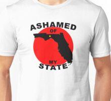 Ashamed Of My State- Florida Unisex T-Shirt