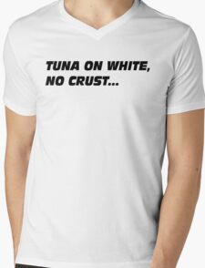 The Fast And The Furious - Tuna On White No Crust Mens V-Neck T-Shirt