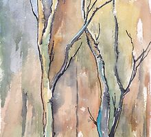 Winter trees by Maree Clarkson