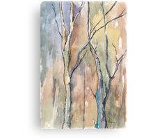 Winter trees Canvas Print