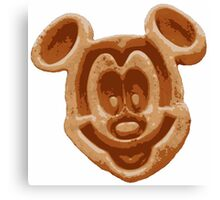 Mickey Waffle Canvas Print