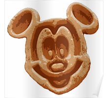 Mickey Waffle Poster