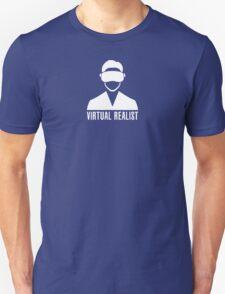 Virtual Realist - White Clean T-Shirt