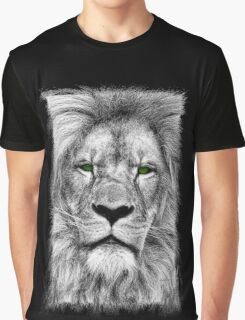 The King - Lion Drawing Graphic T-Shirt