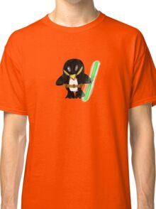 Jedi Penguin Classic T-Shirt