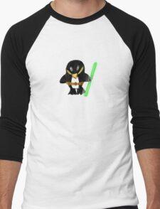 Jedi Penguin Men's Baseball ¾ T-Shirt