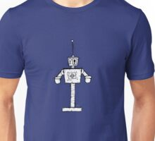 ESKLAMOTION the robot - white BG Unisex T-Shirt