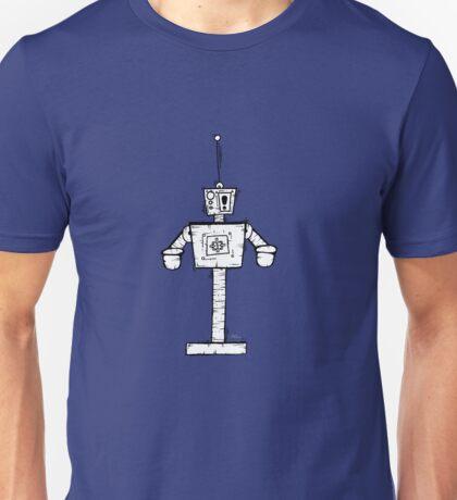 ESKLAMOTION the robot - white BG Unisex T-Shirt