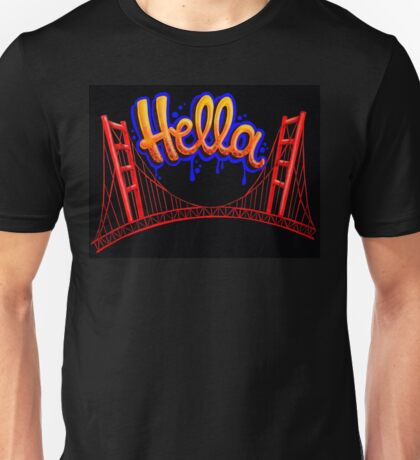 Hella - SF [Blue] Unisex T-Shirt