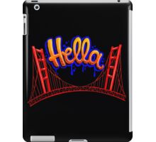 Hella - SF [Blue] iPad Case/Skin