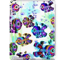 Fun, Colorful Fish iPad Case/Skin
