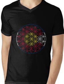 Flower of Colorado Life Mens V-Neck T-Shirt