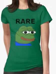 Ultra RARE pepe Womens Fitted T-Shirt