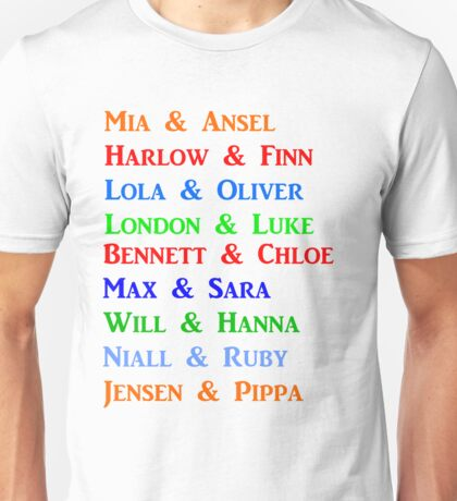 Christina Lauren Couples Unisex T-Shirt