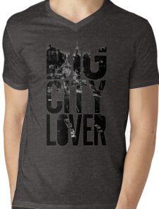 city Mens V-Neck T-Shirt