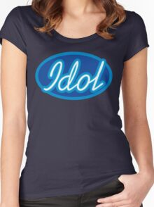 I'M YOUR IDOL Women's Fitted Scoop T-Shirt