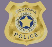 ZPD Zootopia Badge Kids Tee