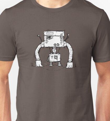 ALT the robot - white BG Unisex T-Shirt