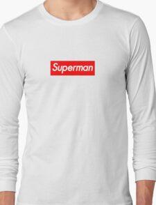 Supreme Superman Long Sleeve T-Shirt