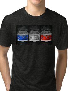 VW Combi France Tri-blend T-Shirt