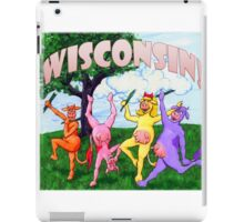 Colorful Wisconsin Cows iPad Case/Skin
