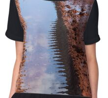 Reflections are clearer than mud Chiffon Top