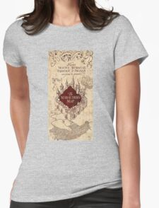 the marauders map77 Womens Fitted T-Shirt