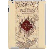the marauders map77 iPad Case/Skin