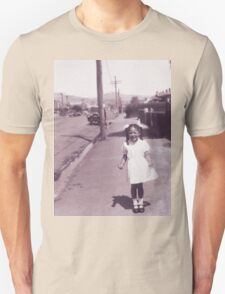 Mum circa 1955 Christchurch, NZ Unisex T-Shirt