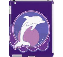 Dolphin Moonlight Magenta iPad Case/Skin