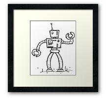 SHIFT the robot Framed Print
