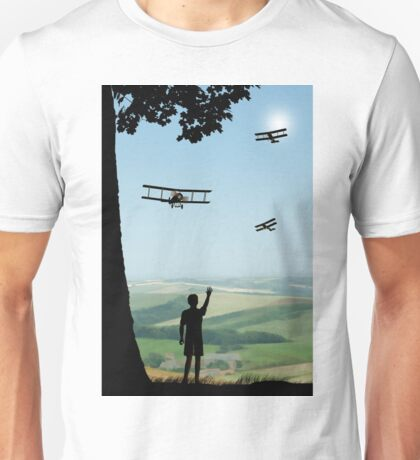 Childhood Dreams - The Flypast Unisex T-Shirt